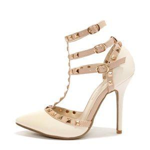 Total diva studded heel